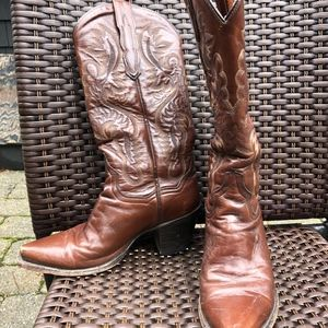 "Dan Post women's 13"" cowboy boots"
